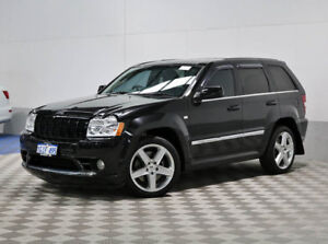 2008 Jeep Grand Cherokee WH SRT 8 Black 5 Speed Automatic Wagon