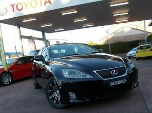 2006 Lexus IS250 GSE20R Prestige Black 6 Speed Auto Sequential Sedan South Hurstville Kogarah Area Preview