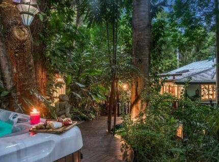 Mullumbimby  double story timber house on one acre near Byron Bay