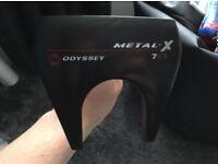 Odyssey metal x 7cs putter