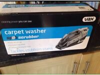 NEVER USED Vax carpet washer