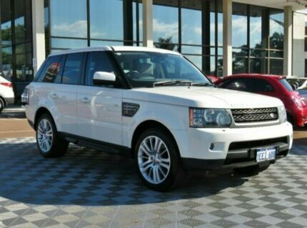 2010 Land Rover Range Rover Sport L320 10MY TDV8 White 6 Speed Sports Automatic Wagon