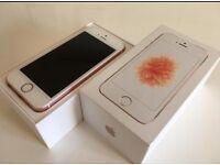 Iphone se ...still under warranty...unlocked STILL LOOKS BRAND NEW