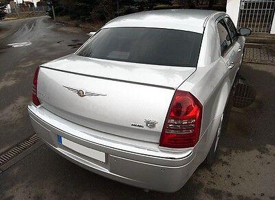 (Chrysler 300C Sedan SRT Rear Trunk Boot Spoiler Lip Wing Sport Trim Euro SRT8)