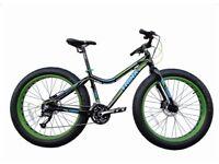Trinx Fat Bike 26 inch wheels 16 inch aluminum frame with 27 shimano gears