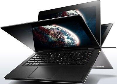 "New Lenovo Yoga 13 13.3"" M-Touch IPS Tablet i7-3537U 3.1GHz 8GB 256GB BT Win8Pro"