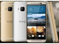 BRAND NEW BOXED SONY HTC M9 32GB UNLOCKED SMARTPHONE, AVAILABLE IN BLACK, SILVER AND GOLD COLOURS