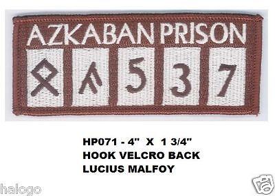 HARRY POTTER LUCIUS MALFOY AZKABAN VEL-KRO PATCH - HP071