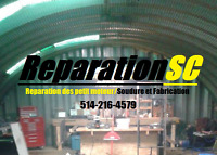 small engine repaire abd welding services
