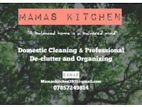 Mamas Kitchen Domestic Cleaners- A Warm, Friendly and Trustworthy Service