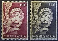 Vaticano 1968: P.aerea Angelo Serie Completa 2 Val. Nuovi Perfetti -  - ebay.it