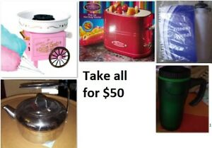 Party and Kitchen Stuff Lot (Take all for $50)