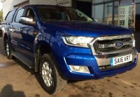 Ford Ranger 2.2TDCi 160PS 4x4 2016MY XLT DOUBLE CAB + HARDTOP/TOW PACK- NO VAT