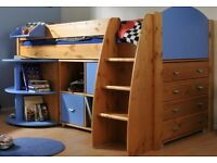 WANTED BOYS STOMPA RONDO CABIN BED