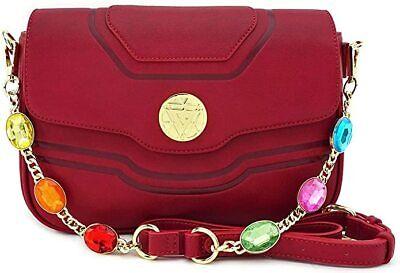 Official Loungefly Marvel Iron Man Iron Gauntlet Crossbody Jewel Bag Handbag
