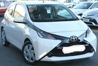 2015 Toyota AYGO 1.0 x-play automatic motorhome tow car braked a-frame towcar