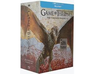 Game of Thrones Complete Seasons 1-6 BluRay