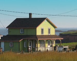 Maison à louer ,Iles de la madeleine, dispo  automne 2018