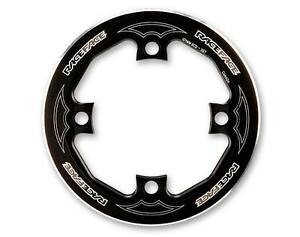 New Race Face Black Bash Guard - 104 BCD 4 Bolt  MSRP $40