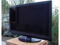 pioneer krl-37v lcd tv. free view build in. good condition