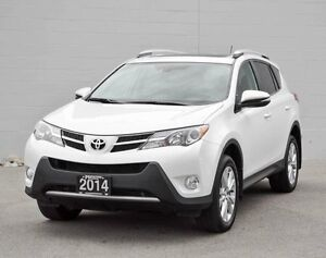 2014 Toyota Rav4 Limited 4dr All-wheel Drive