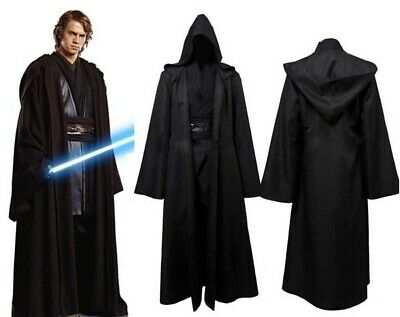 Halloween Cosplay Star Wars Jedi Sith Anakin Skywalker Schwarz