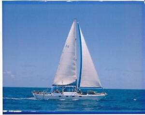 FREE RENT FOR ONE FEMALE LIVE ABOARD MY CRUISING CATAMARAN. Karuah Port Stephens Area Preview