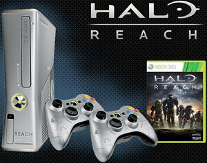 250gb XBOX 360 S Halo Reach Edition (Pickup in Oshawa)
