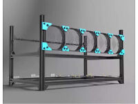 New Aluminium Mining Frame for GPU Ethereum