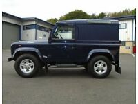 2001 51reg Landrover Defender TD5 county 89k fsh blue as new ew sunroof towbar alloys rear mat