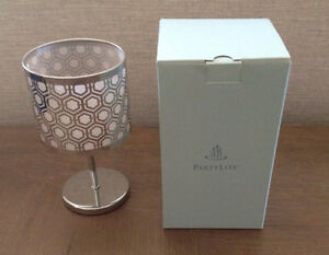 Partylite Enchanted silver mini votive lamp
