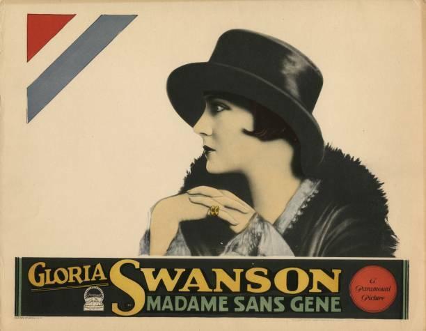 OLD MOVIE PHOTO Madame Sansgene Lobby Card Gloria Swanson 1924 1