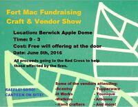 Fort Mac Recovery Fundraising Craft & Vendor Show