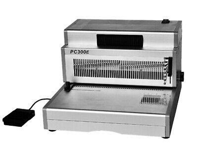 Pc300e Electric Coil Binding Machine 12 Heavy Duty