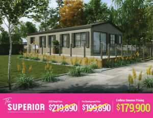 The Superior | BRAND NEW Resort Cottages For Sale