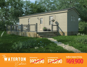 The Waterton Explorer | BRAND NEW Resort Cottages For Sale