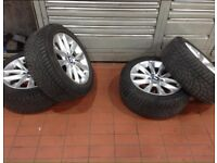 BMW X3 and X4 Winter wheels and tyres