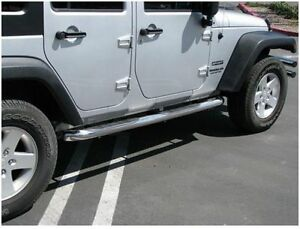 Trail FX  Marchepieds (Side Bars) Stainless - Wrangler 2007-2017 West Island Greater Montréal image 2