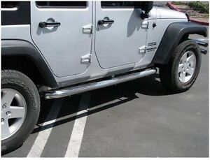 Marchepieds (Side Bars) Stainless - Wrangler 2007-2017 West Island Greater Montréal image 2