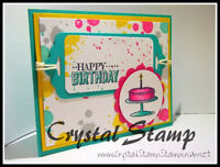 Stamp N Stack Card Class