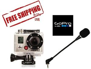 Flexible-Skeleton-Microphone-for-GoPro-Hero-2-amp-3-Camera-Windscreen-Quality-Mic