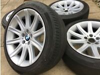 """Genuine 19"""" Style 95 BMW Alloy Wheels - Staggered In Fitment - Grab A Bargain! Rare Buy !"""