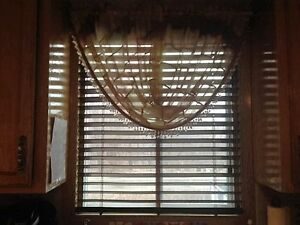 Blinds for two Windows