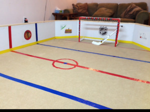 Hockey Mini stick rink