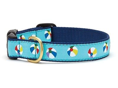 Dog Puppy Design Collar - Up Country - Made In USA - Beach Balls - Choose Size](Puppy Up)