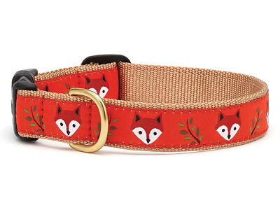 Dog Puppy Design Collar - Up Country - Made In USA - Foxy - Choose Size](Puppy Up)