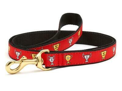 UP COUNTRY BEST IN SHOW TROPHY DOG LEAD LEASH 6 FT  RED NWT