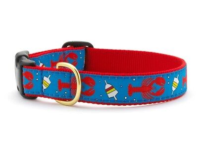 Dog Puppy Design Collar - Up Country -Made In USA - Lobster & Buoy - Choose Size](Puppy Up)