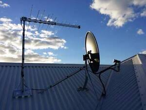 TV Antenna installation / Wall Mounting / Data / Phone / NBN Perth Perth City Area Preview