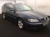 2001 Vauxhall Omega 2.6 V6 CD Automatic Estate With Towbar Cheap Workhorse Like Vectra Frontera